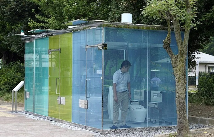 Tandas Awam Lutsinar Di Tokyo Tidak Beri Privasi Kepada Pengguna 'Lepas Hajat' 2