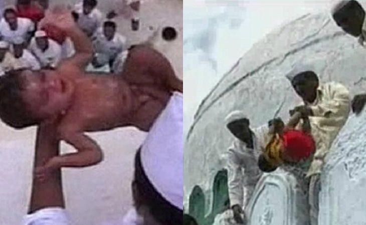 Upacara Campak Bayi Dari Ketinggian 50 Kaki, Satu Ritual Kejam Di India Dipercayai Bawa Tuah 3