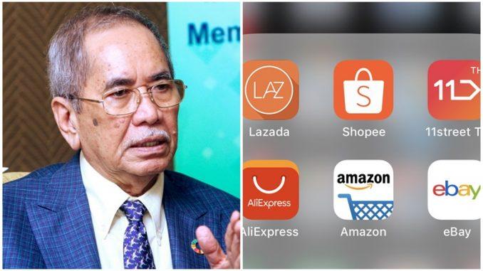 Aplikasi E-Dagang Kerajaan