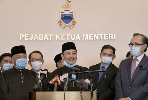 Baru 3 Jam Angkat Sumpah, Dua Menteri #SabahMemilih Bertukar Portfolio 2