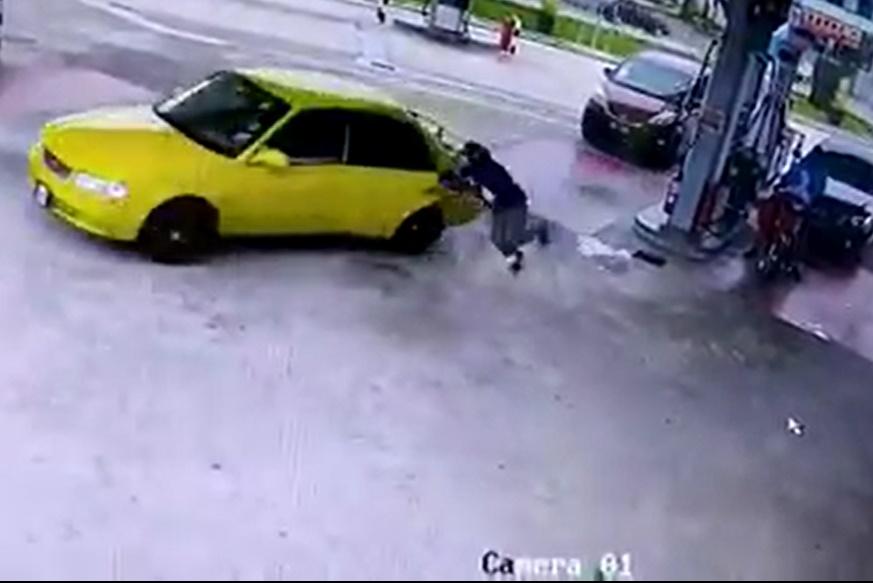 Kuasa Tular Bantu Berkas Suspek Curi Kereta Di Pam Minyak Selepas 6 Jam 1