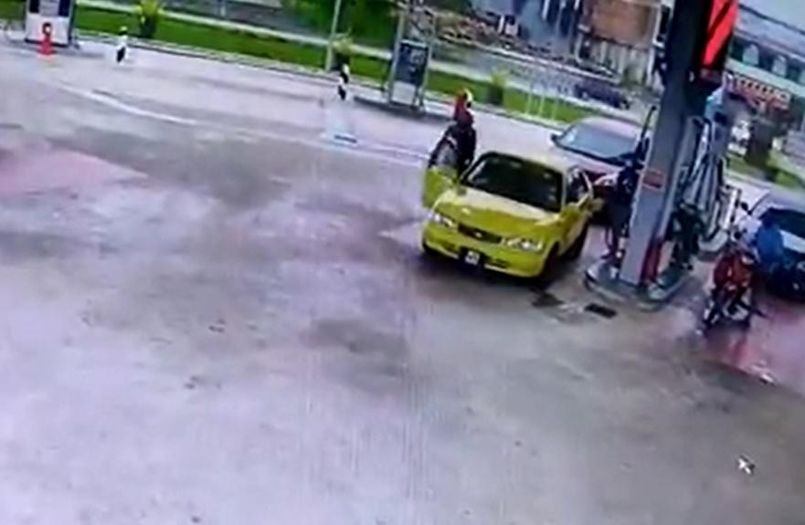 Kuasa Tular Bantu Berkas Suspek Curi Kereta Di Pam Minyak Selepas 6 Jam