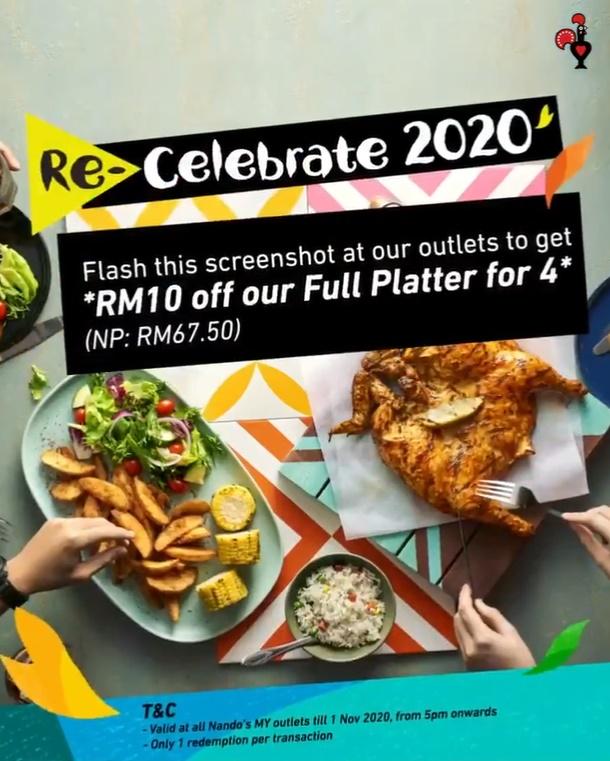 Muat Naik Ucapan 'Selamat Hari Raya', Ini Sebenarnya Yang Berlaku Di Sebalik 'Hantaran Ketum' Nando's Malaysia 1