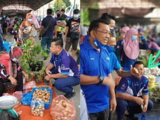 Netizen Dakwa Satu Pasar Terpaksa Ditutup Selepas Pemimpin UMNO Dilapor Positif COVID-19 3