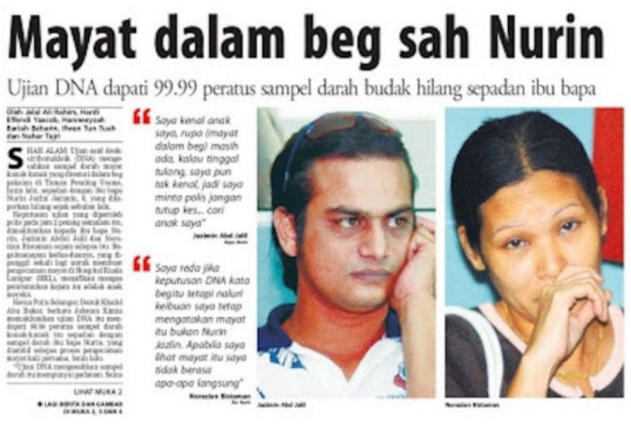 Sudah 13 Tahun, Kes Nurin Jazlin Tak Pernah Ditutup 2