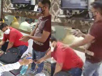Tetap Utamakan SOP, Perompak Pakai Topeng Muka Dan Guna 'Hand Sanitizer' Sebelum Merompak 2