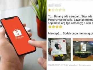 Trend Sengaja Beri Penjual Shopee 1 Bintang Tanda Pembeli Makin Tiada Adab 3