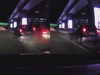 Video Tular Pecut Atas Divider Bukti Myvi Kekal Jaguh Di Jalan Raya 4
