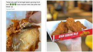 Ayam Goreng McD Berulat