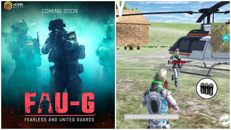 PUBG FAU-G PABJE Permainan India