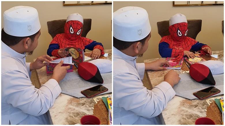 Spider-Man Mengaji