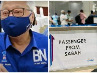 Tak Perlu Kuarantin Pulang Dari Sabah