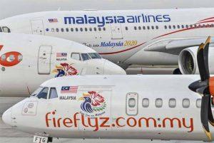 Malaysia Airlines Diganti Firefly Penerbangan Nasional