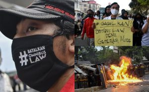 Protes di Indonesia