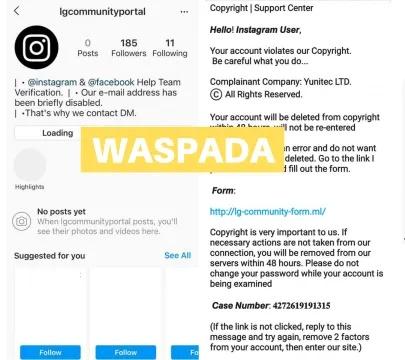 Ambil Alih Akaun Media Sosial Trend 'Phishing' Terkini