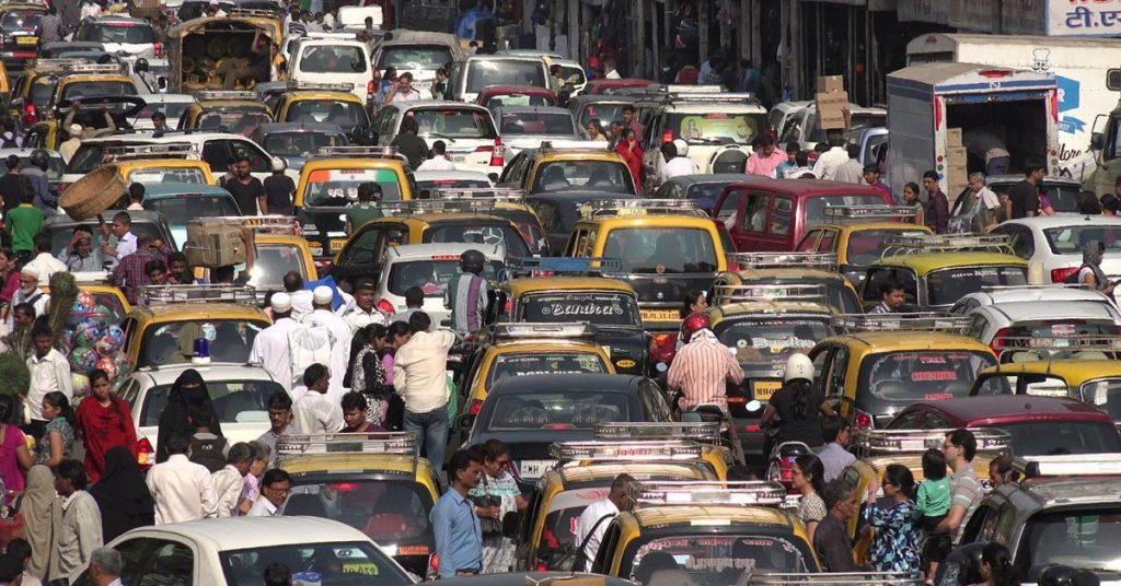 Kesesakan Luar Biasa Di Jalan Raya India, Satu Perkara Biasa Untuk Negara Padat 2