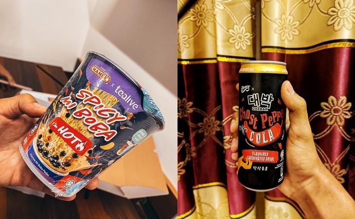 Menu Paling Pelik Tahun 2020 Spicy Mi Boba Dan Ghost Pepper Cola 5
