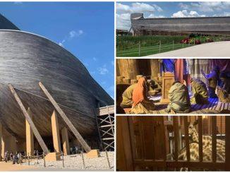 Replika Bahtera Nabi Nuh Di Kentucky
