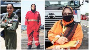 Wanita Malaysia Kerjaya Yang Dimonopoli Lelaki