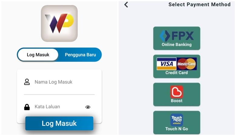 Aplikasi E-Wallet Parkir Kuala Lumpur