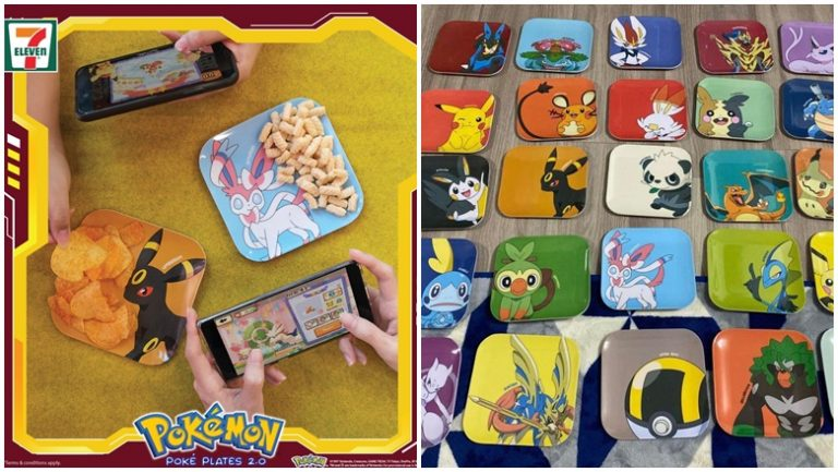 Menangi Pokemon Poke Plates 7-Eleven