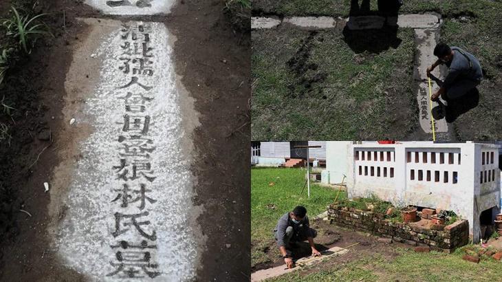 Batu Nisan Dinasti Qing Ditemui Di Rumah Bekas Menteri Besar Pahang 5