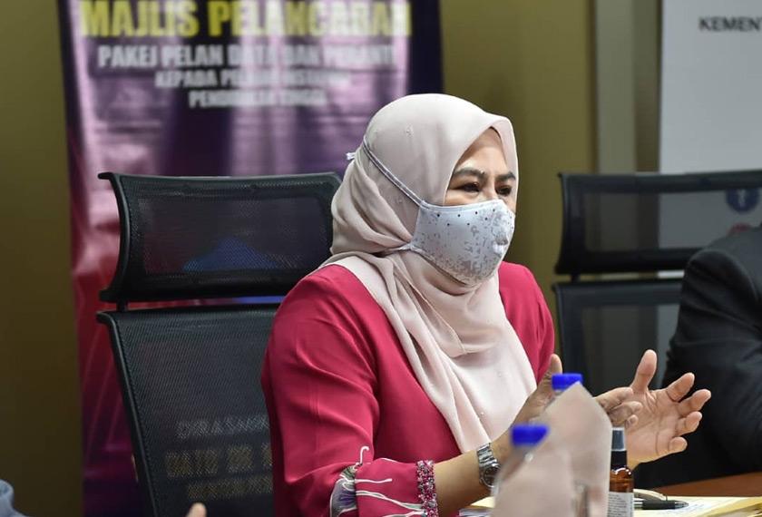 Cara Pelajar IPT Mohon Bantuan One-Off RM50, Pakej Pelan Data Dan Peranti PERCUMA