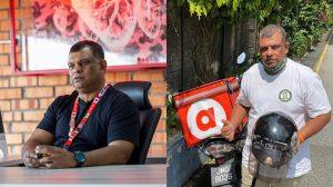 Dari Meja CEO Ke Jalanan, Tony Fernandes Kini Bergelar 'Penghantar Makanan' 4