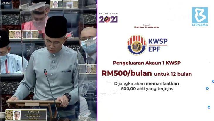 Kerajaan Benarkan Pencarum Keluarkan Wang Dari Akaun 1 Bermula Januari 2021