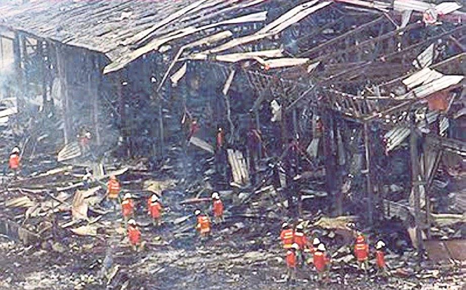 Letupan Hiroshima Sungai Buloh Mercun Diharamkan 3