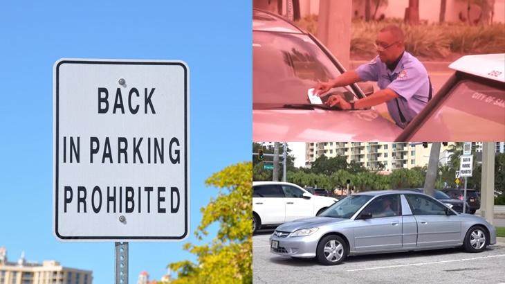 Lihat Apa Lelaki Ini Lakukan Selepas Disaman Kerana Parkir Secara 'Back-In' 3