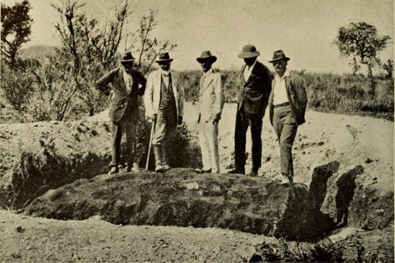 Meteorit Hoba Meteorit Paling Besar Dengan Berat 60 Tan Pernah Jatuh Ke Bumi 3