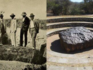 Meteorit Hoba Meteorit Paling Besar Dengan Berat 60 Tan Pernah Jatuh Ke Bumi 4