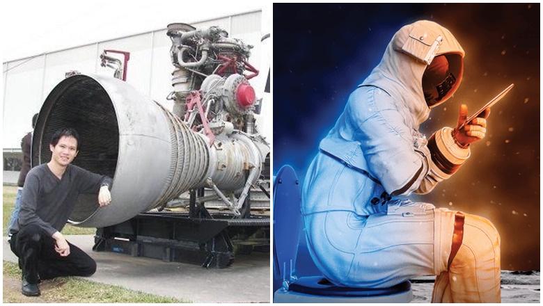 Malaysia Pemenang Rekaan Tandas Angkasa NASA
