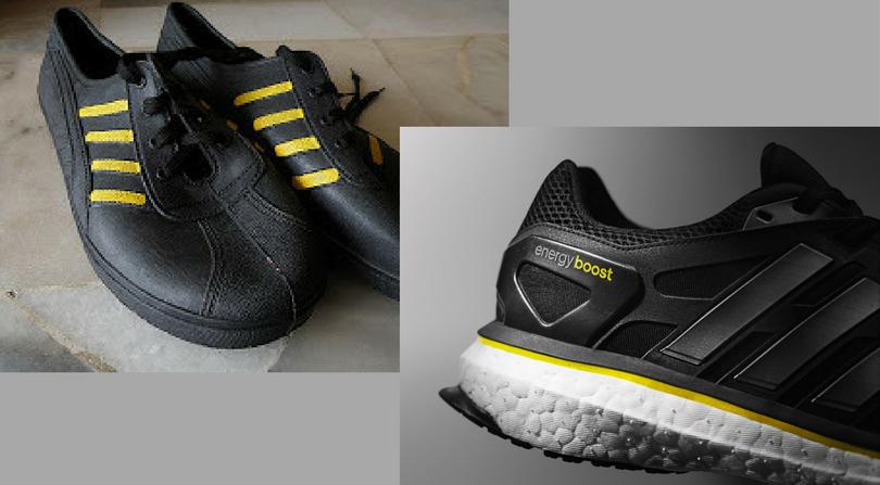 'Adidas Kampung' Jaguh Setanding Kasut Berjenama Dunia