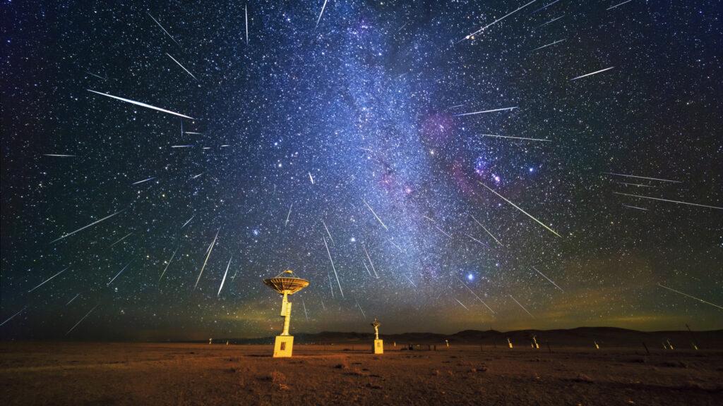 Fenomena Hujan Meteor Dijangka Hiasi Langit Disember 2020