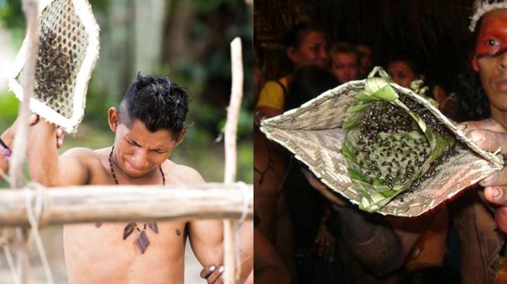 Kenali Suku Yang Gunakan Sarung Tangan Berisi Semut Selama 11 Jam Untuk Uji Tahap Akal Baligh Individu 5