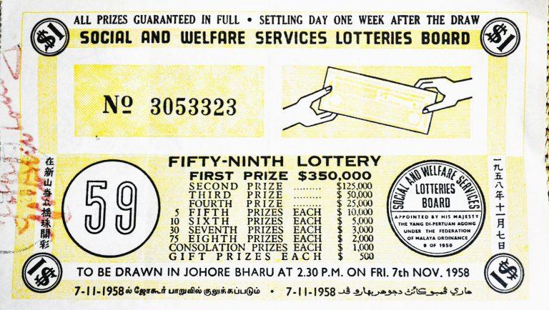 Loteri UMNO 1951, Skim Judi Yang Pernah 'Dihalalkan' Untuk Kebajikan Orang Melayu 1