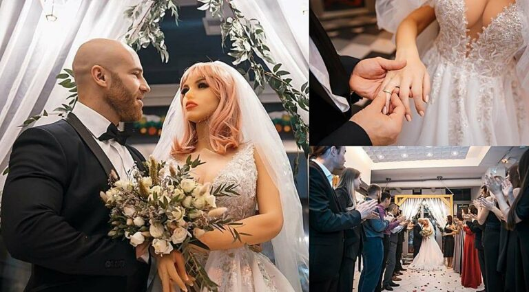 Ahli Bina Badan Kahwin Patung Silikon