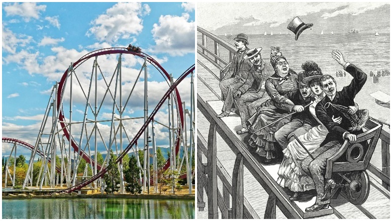 Asal Usul Roller Coaster Thompson