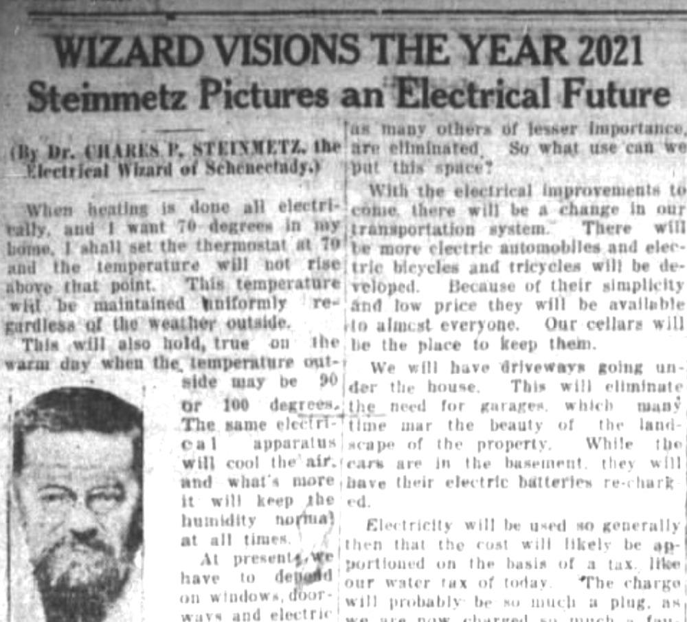 3 Jangkaan Orang Pada Tahun 1921 Yang Sudah Terbukti Berlaku Dalam 2021 1