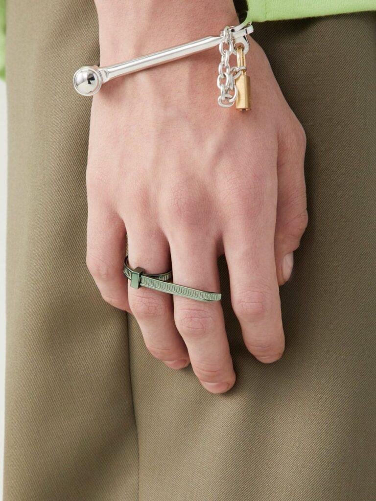Cable Tie Gelang Tangan Cincin Mewah
