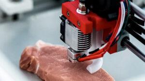 Rasa & Tekstur Sama Macam Daging Betul, Israel Berjaya Hasilkan Daging Cetak Daripada Pencetak 3D