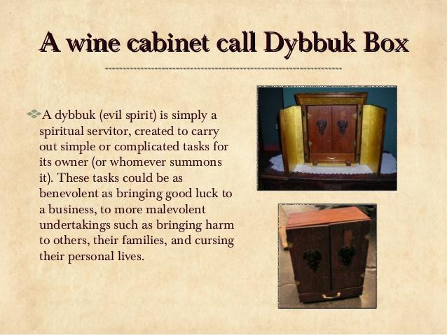Sejarah Kotak Dybbuk Dan Bagaimana Ia Boleh Dijual 2