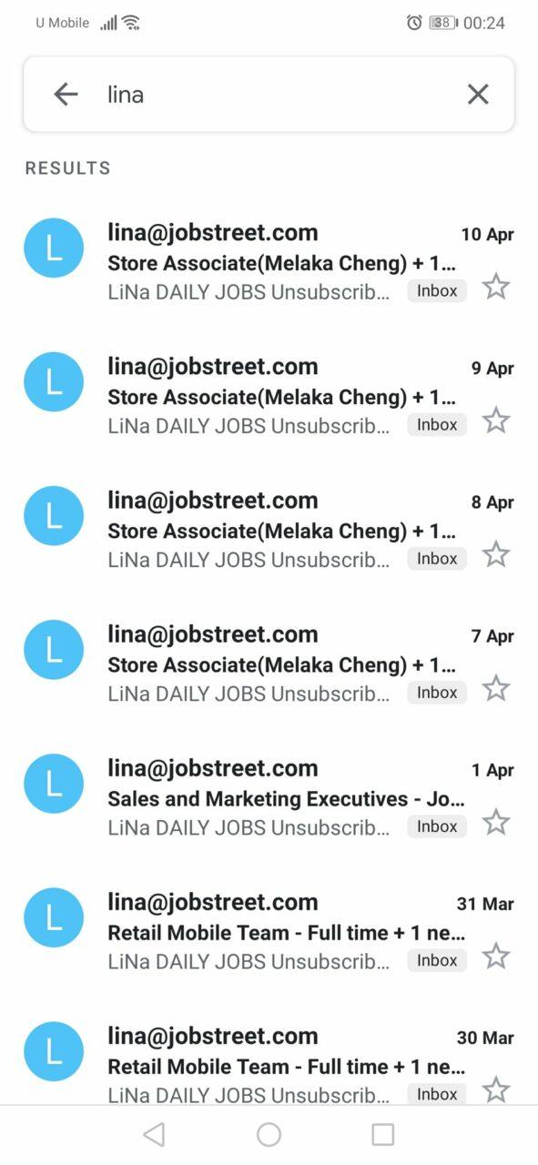 Selalu Kirim Emel Kepada Pencari Kerja, Ini Figura Di Sebalik Nama Lina Di Jobstreet 1