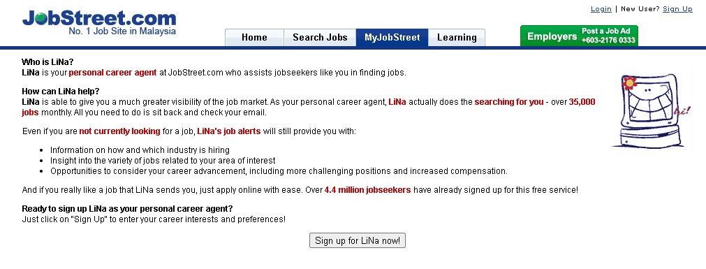 Selalu Kirim Emel Kepada Pencari Kerja, Ini Figura Di Sebalik Nama Lina Di Jobstreet