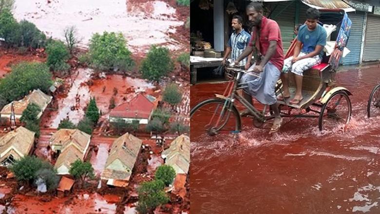 Fenomena Hujan Merah Berdarah Di Kerala