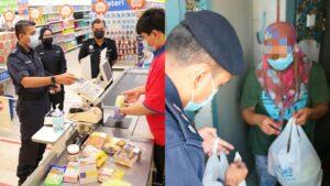 Polis PJ Bantu Ibu Curi Makanan Dan Ubat