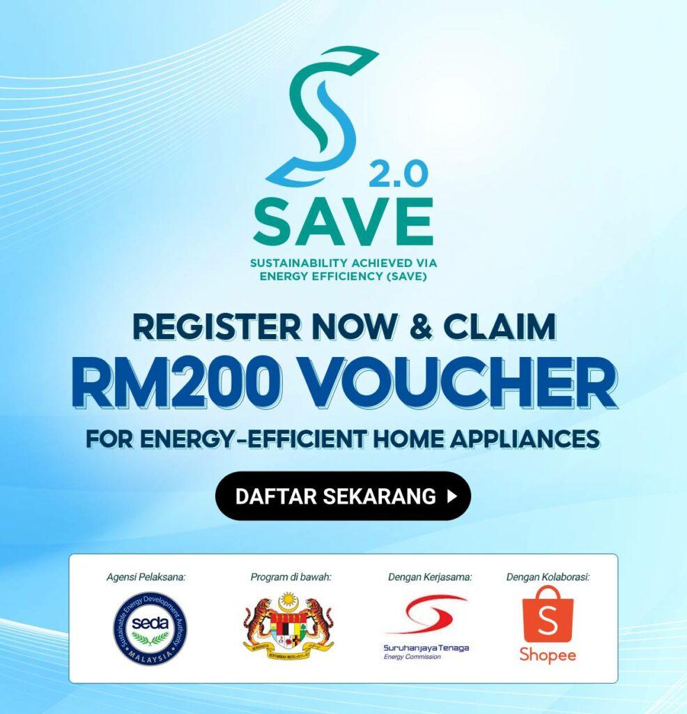 Cara Daftar Dan Tebus Baucar RM200 Belanjawan 2021
