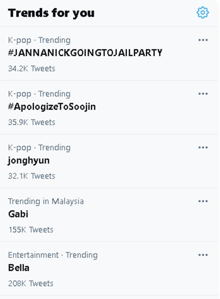 Isu 'Lisa BLACKPIG', Nama Janna Nick Kembali Trending Dengan #JannaNickGoingToJailParty 3